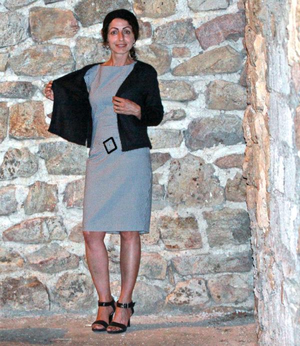 Boutique Mohair Tricot Machine Cardigan Noir