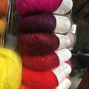 Boutique Mohair Tricot Main Sur mesure Pelotes 012