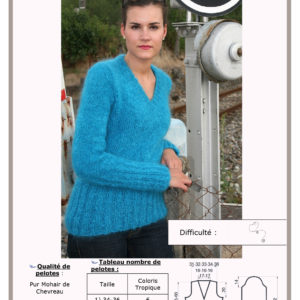 Fiche Kit Tricot Pull Filaire