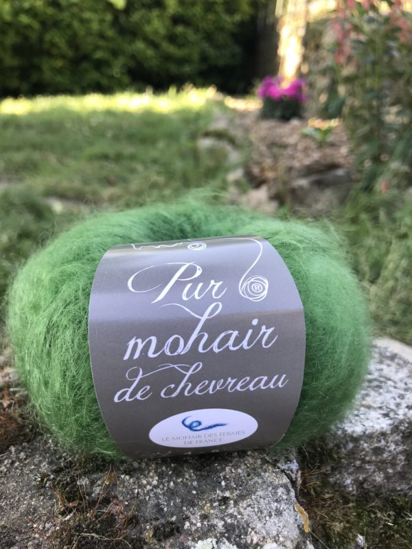 Pur mohair kid Bouteille