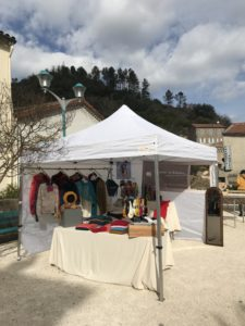 stand marche mohair
